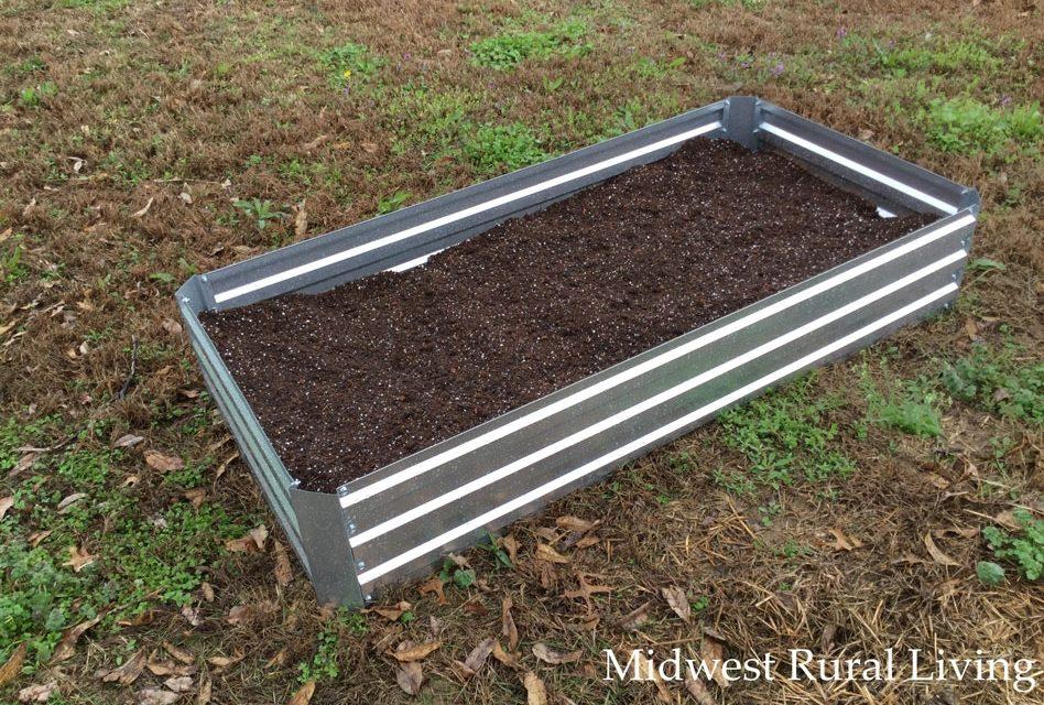 Castlecreek Large Galvanized Raised Bed Planter Box